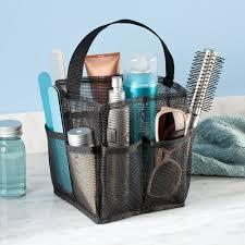 Bathroom Shower Storage by Amazon Com Interdesign Una Bathroom Shower Caddy U2013 Mesh Tote