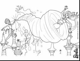 remarkable barbie coloring pages with barbie mermaid coloring
