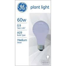 ge 60 watt a19 plant light 1 pack walmart com