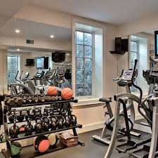 Home Gym Decor Ideas 11 Best Home Gym Images On Pinterest Garage Gym Basement Ideas