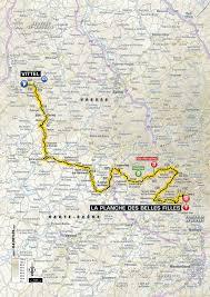 Tour De France Map by Tour De France 2017 5 Etapa