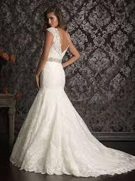 Lace Wedding Dresses Allure Lace Back Wedding Dress Ipunya