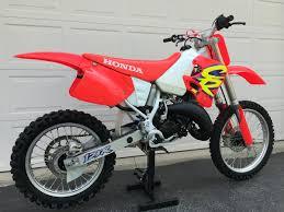 honda motocross bikes for sale 1994 honda cr125 low hour original for sale bazaar motocross