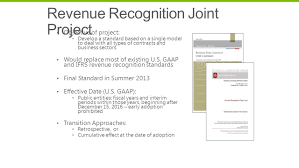 microsoft revenue recognition systems our challenge we are