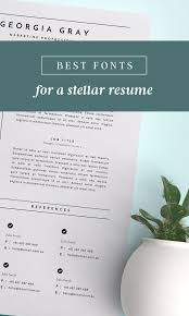 Which Is The Best Font For Resume by Best 25 Best Fonts Ideas On Pinterest Silhouette Fonts Fonts