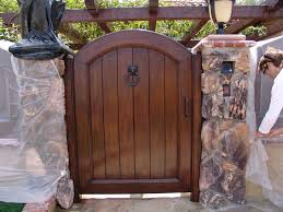 picture custom wood gate provided all star garage door inc picture custom wood gate provided all star garage door inc fresno