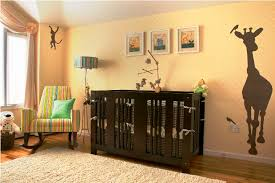 baby nursery decor yellow brown baby nursery paint wooden stained