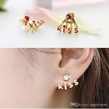 stud earings 2018 korean version jewelry studded earring girl stud