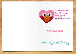 elmo valentines create custom s day cards with cardstore a s