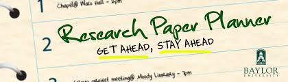As another school year begins  the Baylor Libraries are suggesting that students take advantage of a research paper planning tool that has proven to not