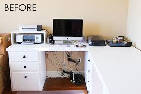 Desk Organization Ideas Computer Desk Organization Ideas Amazing Computer Desk