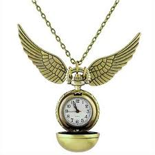 necklace with watch pendant images Harry potter snitch pocket watch necklace harry potter jewelry jpg