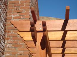 Pergola Rafter End Designs by Best Redwood Pergola