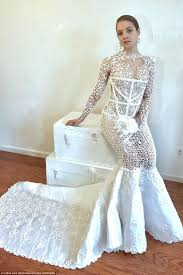 2017 toilet paper wedding dress contest finalist chosen daily