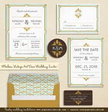 art deco wedding invitation suite free printable mr and mrs