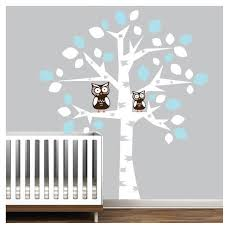 Vinyl Wall Decals For Nursery Vinyl Wall Decal Nursery Tree Decals Owl Owls Baby Room Wall