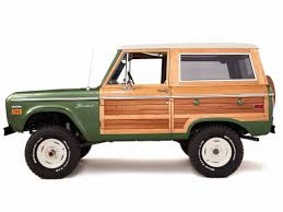 How Much Is The 2016 Ford Bronco This 1974 Ford Bronco Woody Is A 4x4 The Beach Boys Would Drive