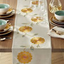 crate and barrel table runner madelyn 90 table runner crate and barrel crates barrels and