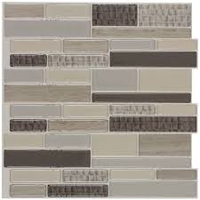 ceramic tile backsplash lowes caiman linear lowes mosaic tile for