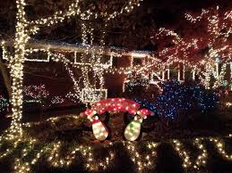 houses with christmas light displays in chattanooga and