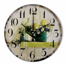 large decorative wall clocks vintage large decorative wall clock