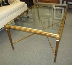 ethan allen glass coffee table ethan allen coffee table glass rascalartsnyc image on marvelous gold