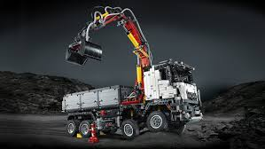 lego technic bucket wheel excavator lego 42043 technic mercedes benz arocs 3245 truck multi coloured