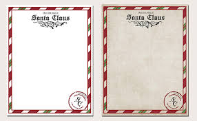 official letters from santa letter from santa printable