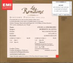 Home Elements Rondine by Giacomo Puccini Antonio Pappano London Symphony Orchestra
