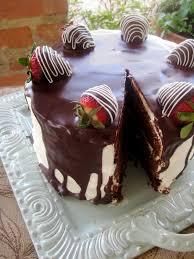 chocolate therapy tuxedo cake