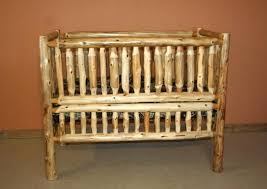 rustic wood baby cribs image of rustic baby cribs furniture sets