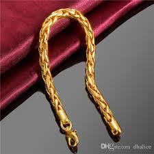 bracelet designs images New gold bracelet designs gold plating 20cm size round chain jpg