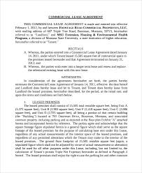sample lease agreement 23 free documents download in word pdf