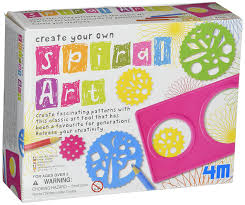 amazon com 4m create your own spin art kit toys u0026 games