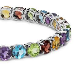 multi colored stones bracelet images Multicolor gemstone bracelet best bracelets