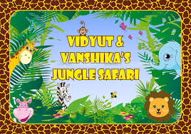 Jungle Backdrop The Jungle Themes Birthday Party Decoration Supplies Untumble