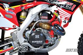 honda motocross gear dirt bike magazine a very very fast crf450r