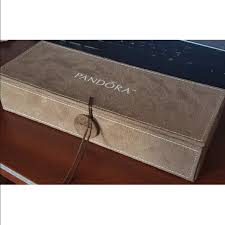 jewelry box 50 50 pandora jewelry new pandora 3 tray jewelry box w