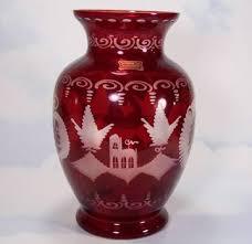 Antique Cranberry Glass Vase 258 Best Cranberry Glass Images On Pinterest Antique Glass