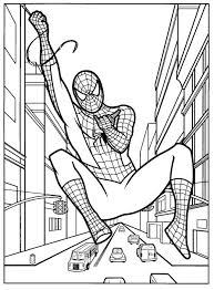 119 dessins de coloriage spiderman à imprimer