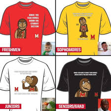 Meme Tshirts - maryland football will give away meme t shirts at its home opener