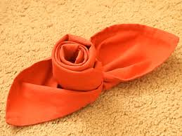 how to make a rose out of a cloth napkin 8 steps with pictures