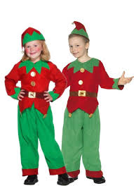 Elf Costume Halloween Christmas Costumes Kids Girls Boys Elf Costume Christmas Fancy