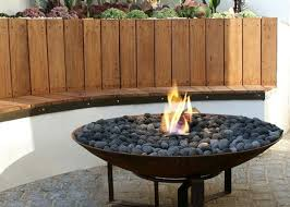 Modern Outdoor Gas Fireplace by Outdoor Living Black Modern Glass Outdoor Fireplace Modern
