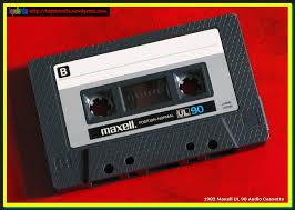 maxell cassette 1982 maxell ul 90 audio cassette tardis