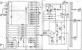 hioki 3080 analogue multimeter schematic diagram circuit