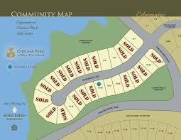 Chelsea Map Chelsea Park Site Maps Eddleman Residential