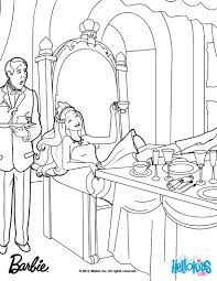 barbie princess coloring pages creativemove