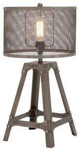 metal table lamp industrial table lamps by gwg outlet