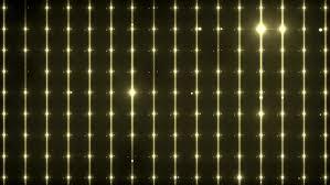 Gold Lights Flood Lights Disco Background Flood Lights Flashing Gold